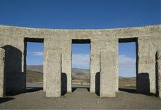 02 stonehenge replik Fotografia Stock