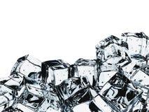 02 sześcianów lód royalty ilustracja