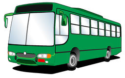 02 sztuk autobus linii Fotografia Royalty Free