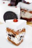 02 tortowych ciastek kremowych serii Fotografia Stock