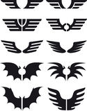 02 ustalonego skrzydła Obrazy Royalty Free
