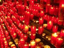 02 świeczki Zdjęcia Stock