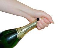 02 wino musujące Zdjęcie Stock