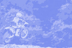 021 tła abstrakta motocross Zdjęcie Stock