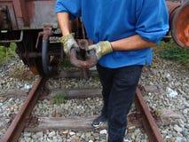 024 linia kolejowa Obrazy Stock