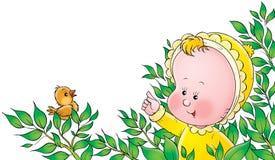 028婴孩 免版税库存照片
