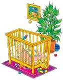 029 behandla som ett barn Royaltyfri Illustrationer