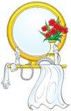 029 vårt bröllop Stock Illustrationer