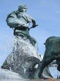03个喷泉gefion 免版税图库摄影