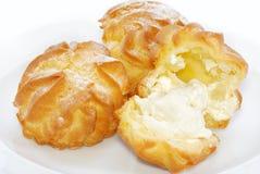 03个奶油饼系列 库存图片