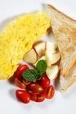 03个早餐肥胖健康低 库存图片