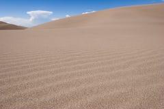 03个沙丘极大的国家公园蜜饯沙子 免版税图库摄影