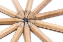 03个铅笔系列 免版税库存照片