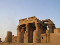 03古老埃及卢克索寺庙 免版税库存图片