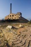 03块砖工厂 库存照片