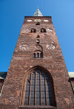 03奥尔胡斯教会 库存图片