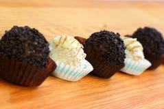 03巧克力甜点 免版税库存图片