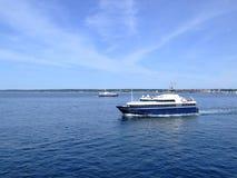 03条小船轮渡helsingborg乘客 免版税库存图片