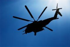 03架直升机海军陆战队员 免版税库存图片