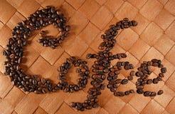 03粒豆咖啡 免版税库存照片