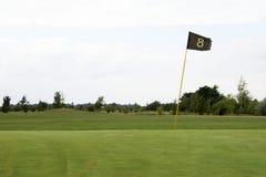 03高尔夫球绿色 库存图片