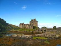 03 écossais des montagnes de château Photo libre de droits