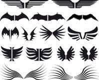 03 καθορισμένα φτερά Στοκ φωτογραφίες με δικαίωμα ελεύθερης χρήσης