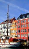 03 κανάλι Κοπεγχάγη Στοκ Φωτογραφία