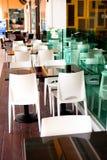 03 σειρές καφέδων Στοκ Εικόνες