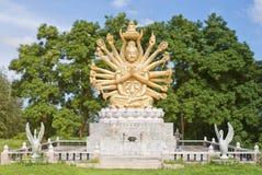 03 вооруженный Будда multi Стоковые Изображения