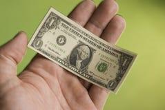 03 доллара сжимая Стоковые Фото