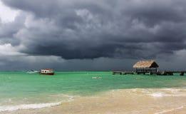 03 пляж caribbean Тобаго Стоковые Изображения