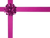03 розовых тесемки Стоковая Фотография