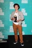 03 06 12 2012 amfiteatrów nagradzają ca miasta gibson hutcherson josh filmowi mtv prasowego pokoju cechę ogólną Obraz Stock