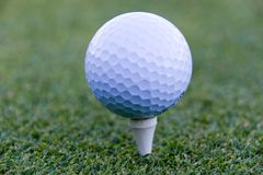 03个球高尔夫球 免版税库存照片