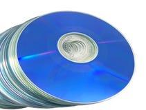 光学03个的光盘 免版税图库摄影