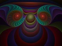 03 art fractal optical plastics ελεύθερη απεικόνιση δικαιώματος