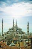 03 błękit meczet Obrazy Royalty Free