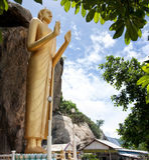 03 Buddha pozycja Obraz Royalty Free