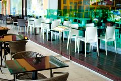 03 cafeserie Arkivbilder