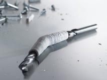 03 cast drill Arkivbild