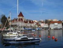 03 chateau d ouchy Lozannie Szwajcarii Zdjęcia Royalty Free