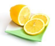 03 cytryna - kolor żółty Fotografia Stock