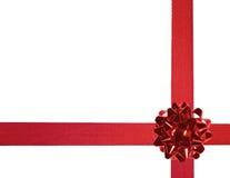 03 czerwone wstążki Fotografia Royalty Free