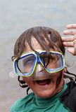 03 dorky的潜水员 库存照片