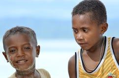 03 dzieciaka Papua Zdjęcia Stock