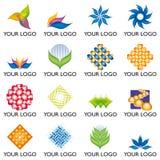 03 elementów logo Zdjęcie Stock