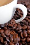 03 kaffeserie Arkivfoto