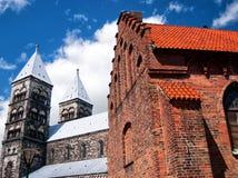 03 katedra Lund Fotografia Royalty Free