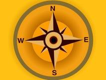 03 kompas. Obrazy Stock